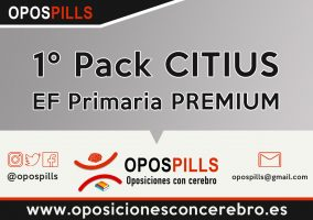 1º Pack CITIUS – EF Primaria ESTANDAR