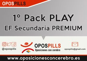 1º Pack PLAY – EF Secundaria ESTÁNDAR