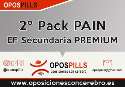 2º Pack PAIN – EF Secundaria