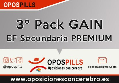 3º Pack GAIN – EF Secundaria